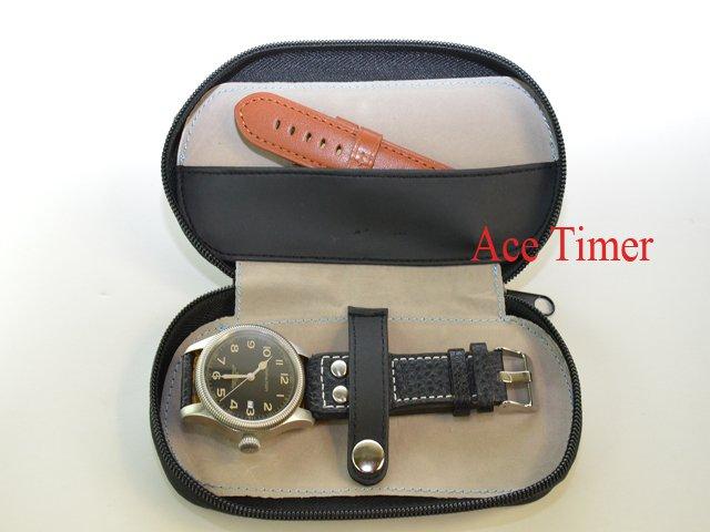 1 Watch Travel Pouch With One Strap Storage Case Box