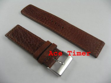22mm Honey MegaStrap Vintage Pilot Watch Strap Band