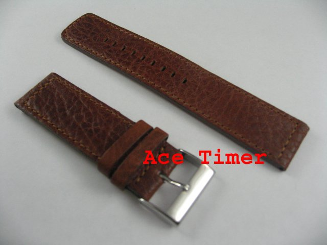 20mm Honey MegaStrap Vintage Pilot Watch Strap Band