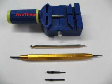 Watch Band Link Pin Remover + Spring Bar Tool for Strap Band Bracelet Toolset