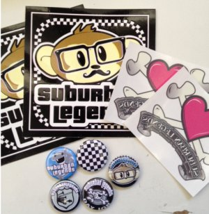 Button and Sticker Pack