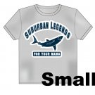 College Shark T-Shirt Size: Small
