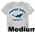 College Shark T-Shirt Size: Medium