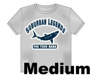 College Shark T-Shirt Size: Medium