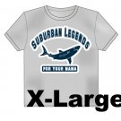 College Shark T-Shirt Size: X-Large