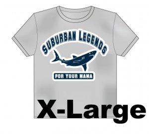 College Shark T-Shirt Size: X-Large