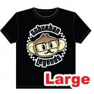 Hipster Monkey T-shirt Size: Large