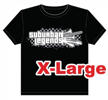 SL Checkers T-shirt Size: X-Large