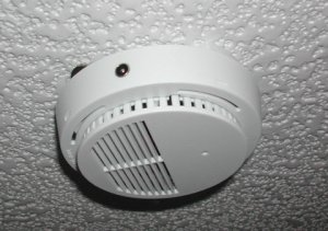 Wired Smoke Detector CCTV Spy Pinhole Color Camera