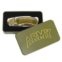 Army Knife in Metal Tin Collectible Collector Collectors FREE SHIPPING