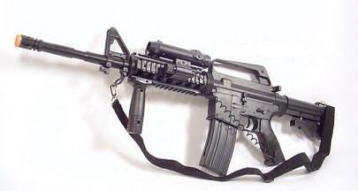 FOUR 4 38 in. Airsoft M 16 Assault Rifle  AirSoft guns FREE SHIPPING  Air soft
