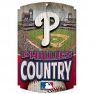 Philadelphia Phillies MLB Wood Sign