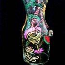 Caribbean Excitement Design - Hand Painted - Carafe - .5 Liter