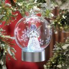 LED Angel Globe Ornament