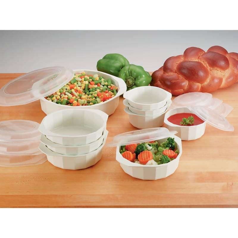 LaCuisine 18 pc. microwave cookware