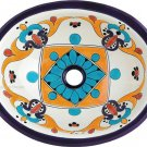 mexican talavera sink