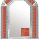 mexican arch tin mirror