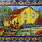 backsplash talavera tile mural