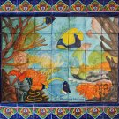 backsplash talavera tile mural