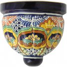 mexican talavera pottery sconce