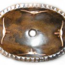 oval copper bath sink