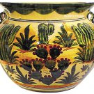 talavera flower pot