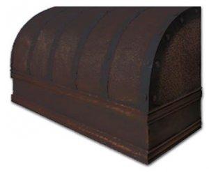 wall copper hood