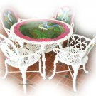 aluminum cast furniture