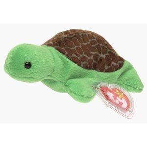 SPEEDY the Turtle -  Ty Beanie Babies