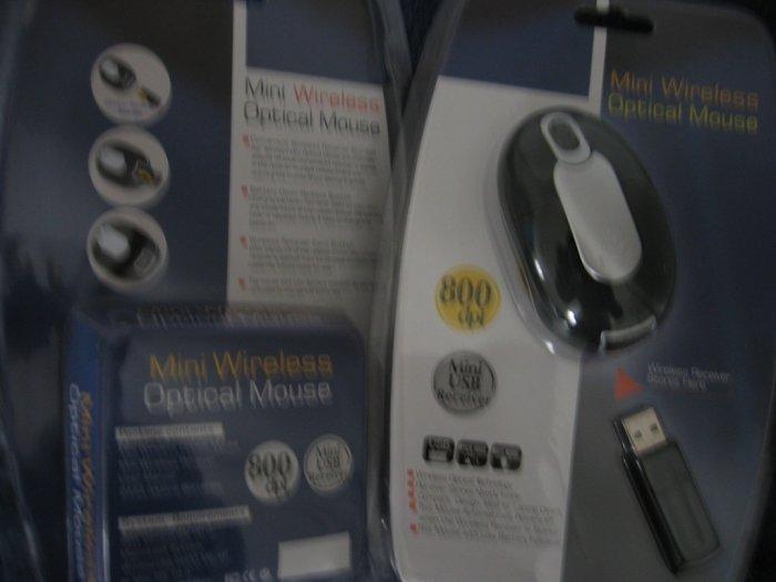 Mainstrem Mini Wireless Optical Mouse