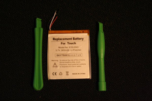 iPod iTouch 1G Battery 616-0343 900mAh Brand New + Opening Tools