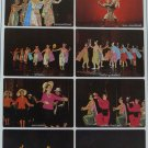 Thai Dance Dancing Play Art Poster Origin Tradition Style Bamboo Rice Fan Candle