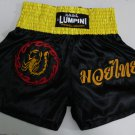 Muay Thai Kick Boxing MMA Boxen Fight Shorts Scorpion Ring of Fire Red Black XXL K-1 UFC