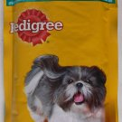 Dog Hygiene Pedigree Food Chicken Liver Gravy Pouch 150g Real Meat Collie Beagle