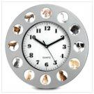 14464 Animal Farm Wall Clock