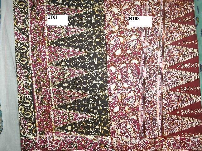 Batik sarung Terengganu Asli