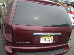 2003 Chrysler Town and Country  Tail Gate