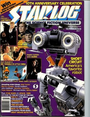Starlog #108 July 1986