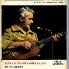 La Semaine #36 September 5-11, 1970  France