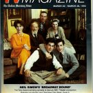 Dallas Morning News TV Magazine March 22, 1992