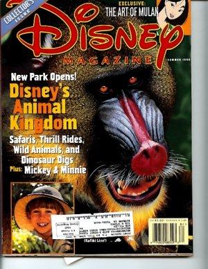 Disney Magazine Summer 1998