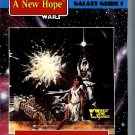 Star Wars Galaxy Guide #1 A New Hope 1989