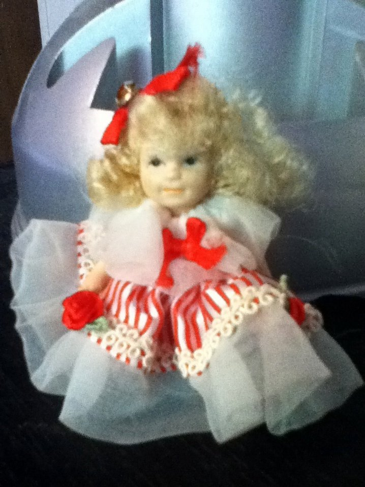 small porcelain doll