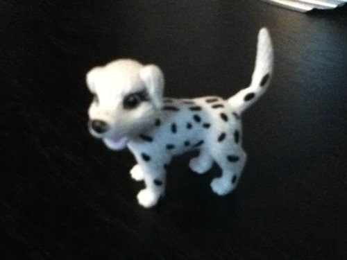 Polly Pocket Dalmation Dog (puppy, mattel, cute)