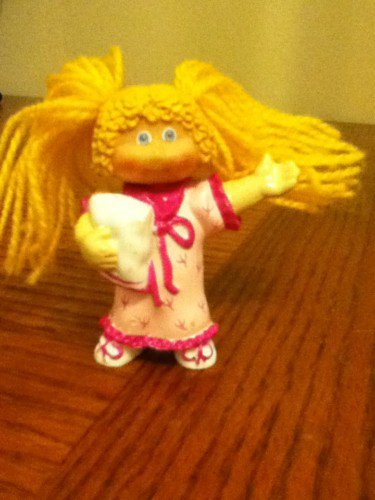 Cabbage Patch PVC figure Blonde Slumber Party Doll