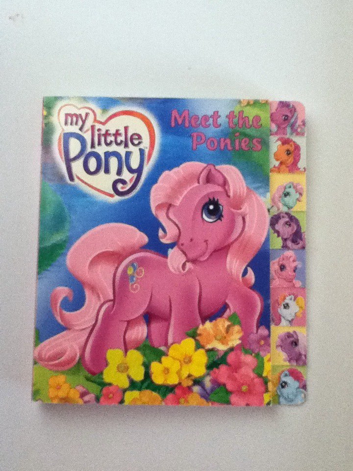 MLP Meet The Ponies Book