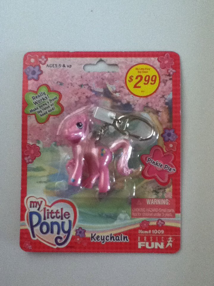 MLP Pinkie Pie Keychain
