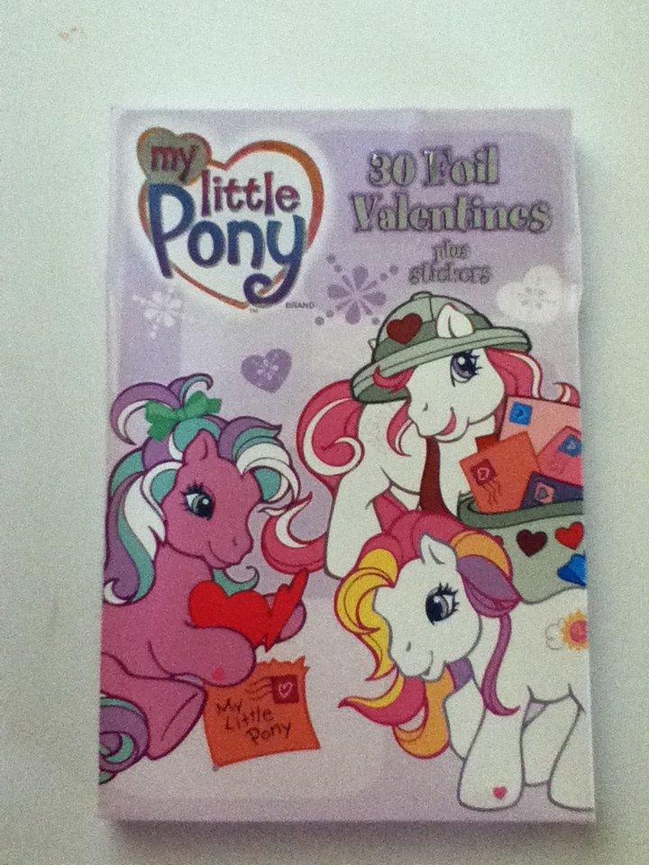 My Little Pony G3 Foil Valentines