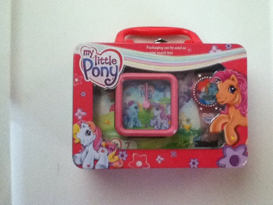 My Little pony Clock and Watch