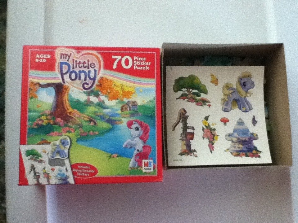 My Little Pony 70 Piece Sticker Puzzle